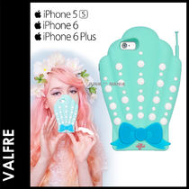 ■SALE★3-7日着/追跡付【即発送・Valfre】SHELL PHONE 3D CASE