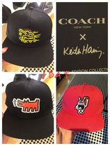 【COACH x Keith Haring】期間限定★人気ロゴキャップ☆