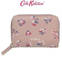 [Cath Kidston正規品] LEATHER POCKET PURSE