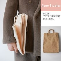 [Acne] Baker grocery totebag 買い物バッグ風トートバッグ2色
