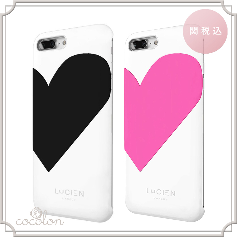 【関税込】国内発[LUCIEN] iPhone 7 Plus case L'AMOUR PLAY