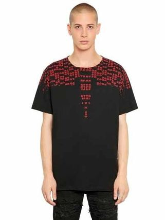 REY PRINTED COTTON JERSEY T-SHIRT  COUNTY OF MILAN