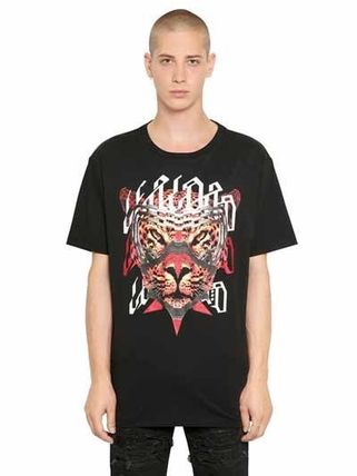 NESTOR PRINTED COTTON JERSEY T-SHIRT  COUNTY OF MILAN