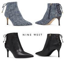 2017-18AWバックレースアップが素敵Mangia Booties☆Nine W