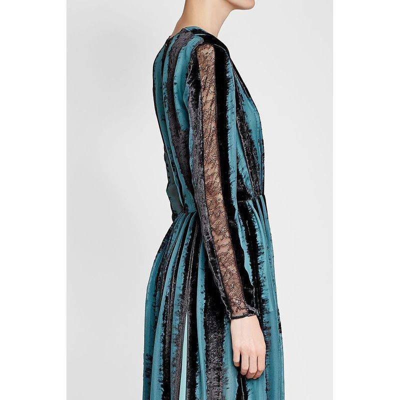 Elie Saab(エリーサーブ)★Velvet Gown with Silk