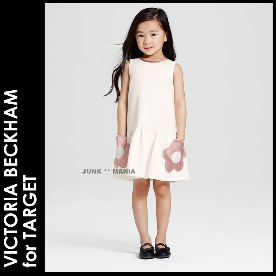 ★3-7日着/追跡&関税込【VBxTARGET】2T-5T/Flower Pocket Dress
