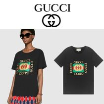 GUCCI☆直営店買い付け送料込み/ギフトOK☆新作ロゴTシャツ