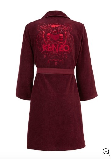 【KENZO】バスローブ Iconic bathrobe of cotton