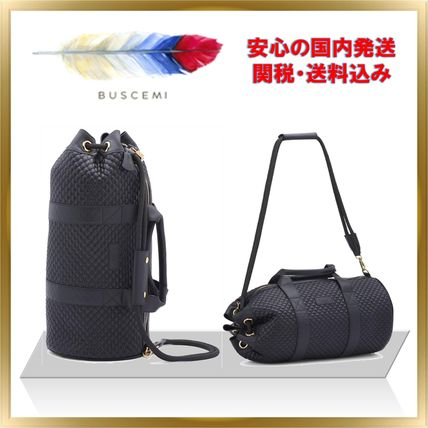 BUSCEMI バックパック・リュック ◇話題のブランド◇ BUSCEMI DUFFLE BAG QUILTED 【関税送料込】