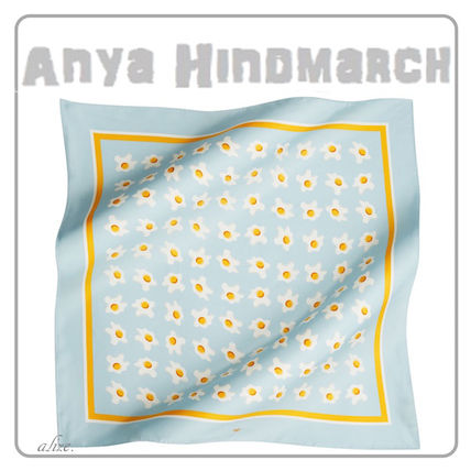 【2017ss VIPSALE!】Anya Hindmarch★Eggs Large シルクスカーフ