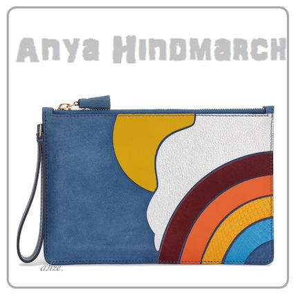 【2017ss VIPSALE!】Anya Hindmarch ★ Cloud  クラッチバッグ