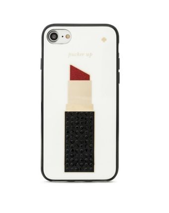 【国内発送】kate spade★新作! Jeweled Lipstick iPhone7 Case