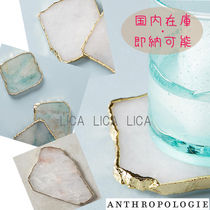 国内在庫・即納可能Anthropologie SLIVERED GEODE COASTER