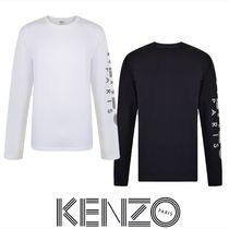 KENZO BAND LOGO LONG SLEEVED T SHIRT2色あり 関税送料込