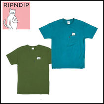 【即発◆3-5日着】 RIPNDIP ◆ Lord Nermal Pocket Tシャツ
