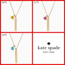★kate spade Born To Be Pendant 誕生石 10月ー12月★送料込