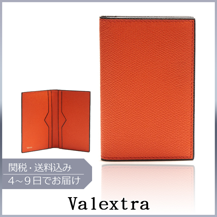 【VIPセール】Valextra★Bi-fold leather card カードホルダー