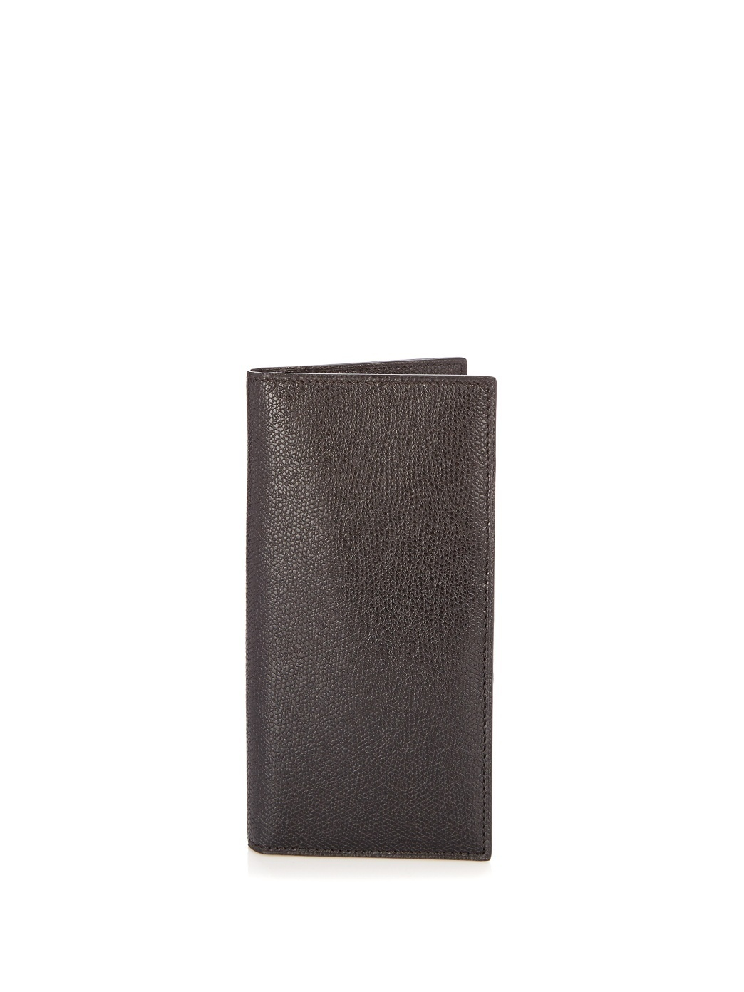 【VIPセール】Valextra★Vertical leather wallet 財布