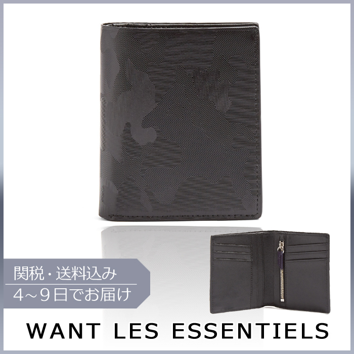 【VIPセール】WANT LES ESSENTIELS★Bradley bifold leather財布