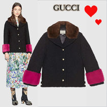 17-18AW★GUCCI★ミンクファー付きブーレークジャケット