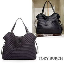 【Tory Burch】Quilted Nylon Slouchy Tote 関税送料込