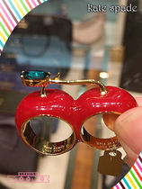 大人気チェリーリングKate spade ma cherie cherry double ring