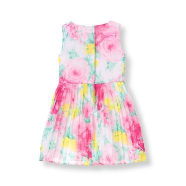Janie and Jack☆Floral Chiffon Dress