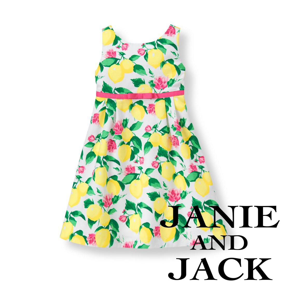 Janie and Jack☆Lemon Pique Dress