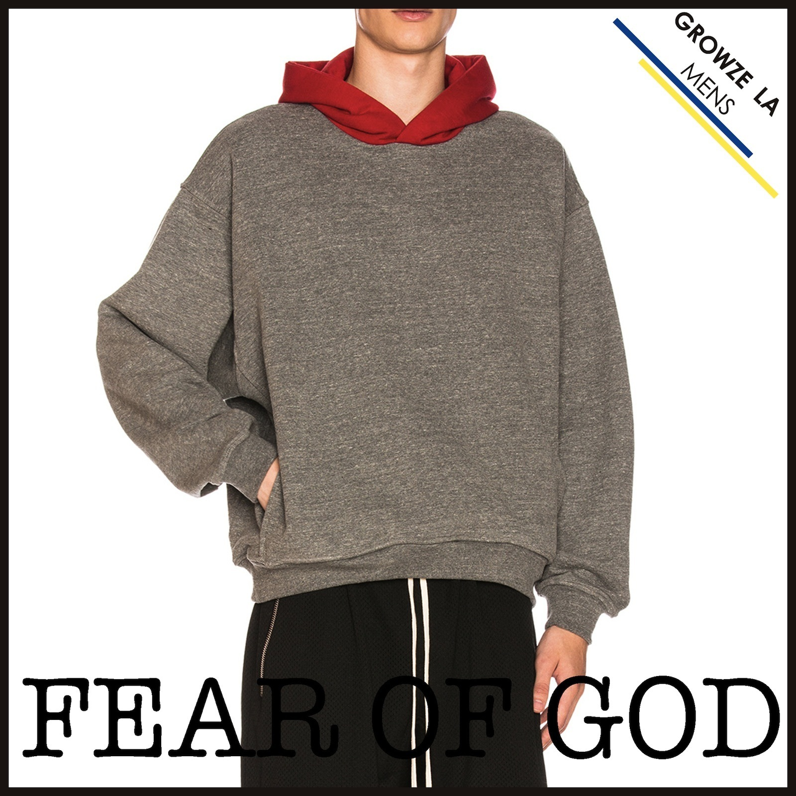 ★【FEAR OF GOD】各サイズ1点 Heavy Terry Everyday Hoodie