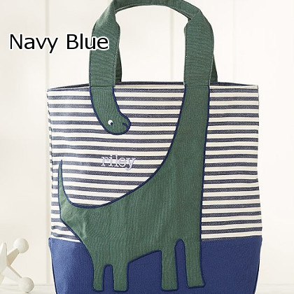 ★Pottery Barn★Striped Critterトートバック名入れ可