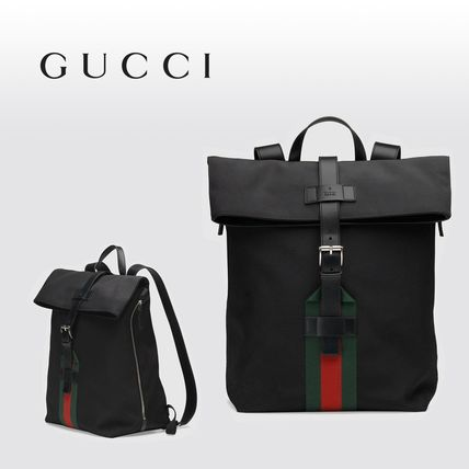 ∴Gucci∴ Techno canvas backpack