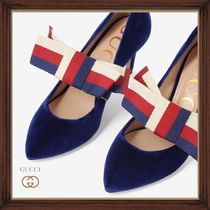 ★★GUCCI《グッチ》PUMPS WITH BOW  ヒール7.5㎝ 送料込み★★