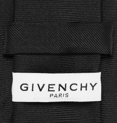 GIVENCHY 6.5cm Silk-Jacquard Tie ネクタイ
