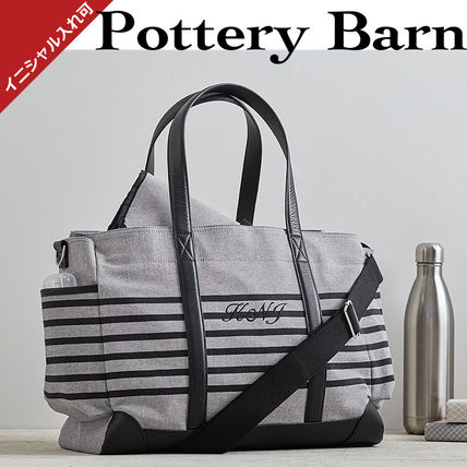 ★Pottery Barn★Classic Striped マザーズバック