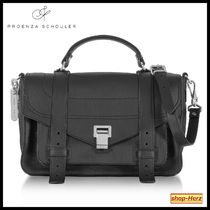 ★Proenza Schouler★ PS1+ Black Grainy ハンドバッグ 関税込