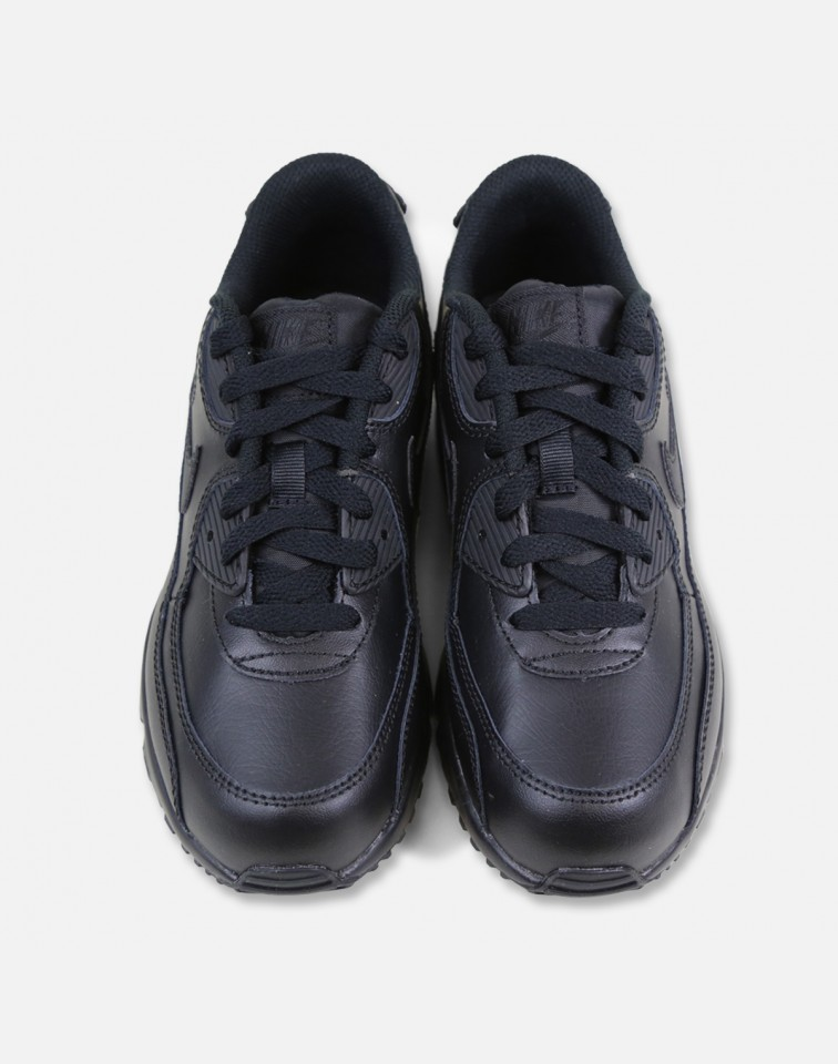 SS17 NIKE AIR MAX 90 LEATHER PS BLACK 16.5〜22cm送料無料