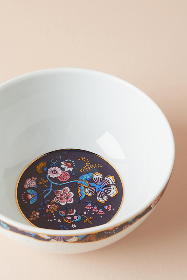 18AW☆最安値★関送込【Liberty×Anthro】Mabelle Floral Bowl