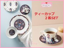 18AW☆関送込【Liberty×Anthro】Mabelle Floral Cup&Saucer 2客