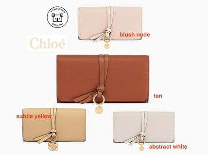 Chloe 長財布 Chloe★クロエ  長財布 Alphabet long wallet with flap