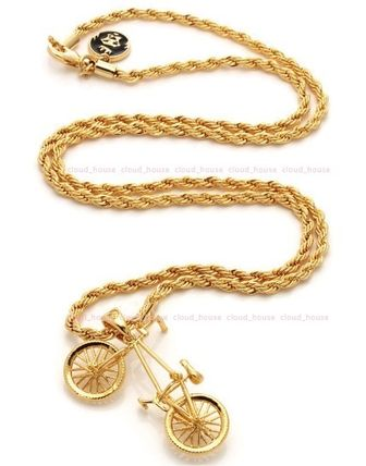King Ice ネックレス・チョーカー 送料税込【King Ice】14K Gold BMX Bicycleネックレス☆国内発送(5)