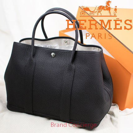 huge selection of 35a7f d5d83 国内発送 HERMES/エルメス ガーデンパーティPM ブラック