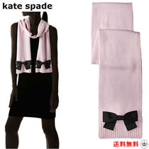 SALE【kate spade】Grosgrain Bow リボン マフラー