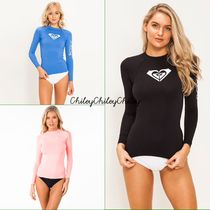 【ROXY】Whole Hearted Long Sleeve Rash Vest/ラッシュ
