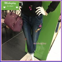【kate spade】こだわりの1本に♪ patch embellished jean★