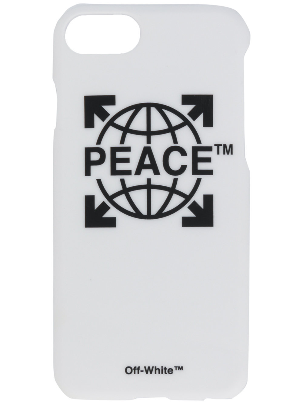 OFF-WHITE★PEACE iPhone 7 ケース ホワイト