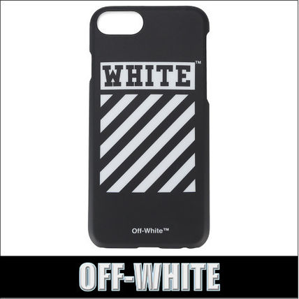 OFF-WHITE★DIAG iPhone 7 ケース ブラック