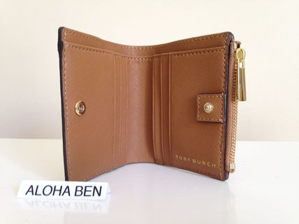 Tory Burch 折りたたみ財布 TORY BURCH ROBINSON MINI WALLET セール 即発送 (3)
