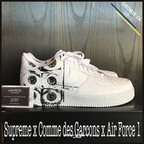 ★【Supreme】US9.5 27.5cm Supreme x CDG x Nike Air Force 1