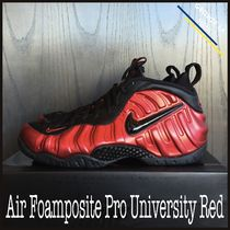 ★【NIKE】US9 27cm ナイキ Air Foamposite Pro University Red