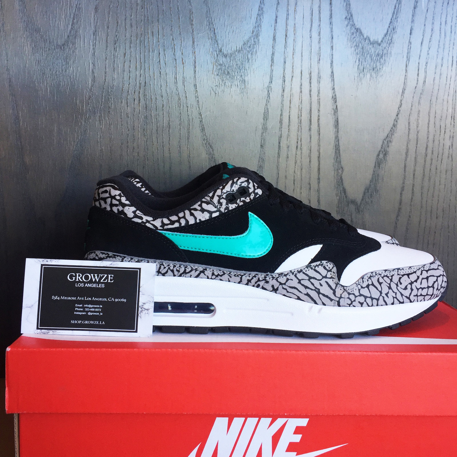 ★【NIKE】US12 30cm Air Max 1 x Atmos Elephant 2017